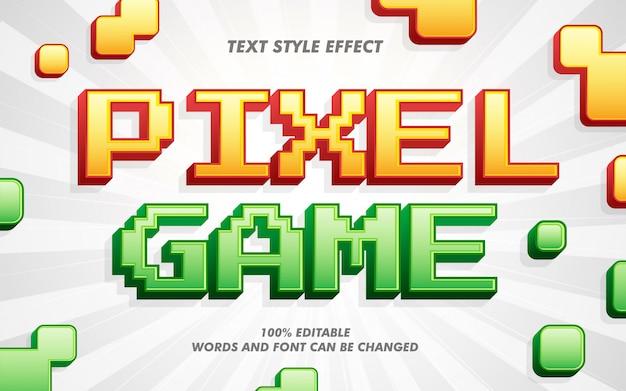 Altmodischer mutiger text-art-effekt Premium Vektoren