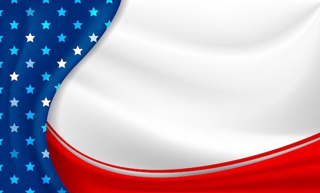 Amerika oder usa urlaub hintergrund 4. juli unabhängigkeitstag Premium Vektoren