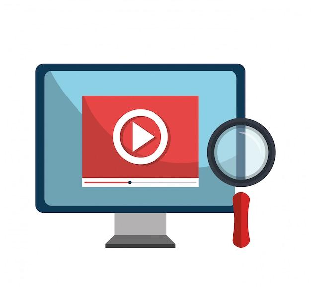 Analytics-suchinformationen Premium Vektoren