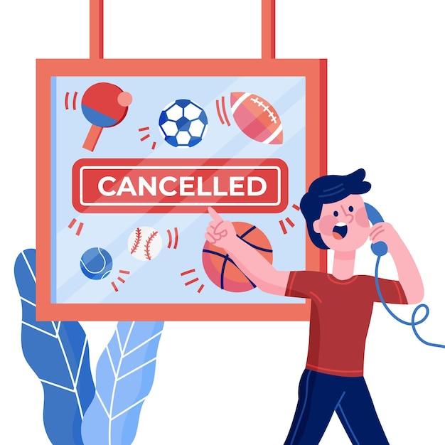 Ankündigung von sport und aktivitäten Kostenlosen Vektoren