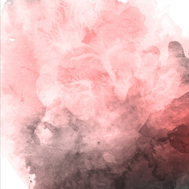 Aquarell Valentine Pink und Grauer Hintergrund Kostenlose Vektoren