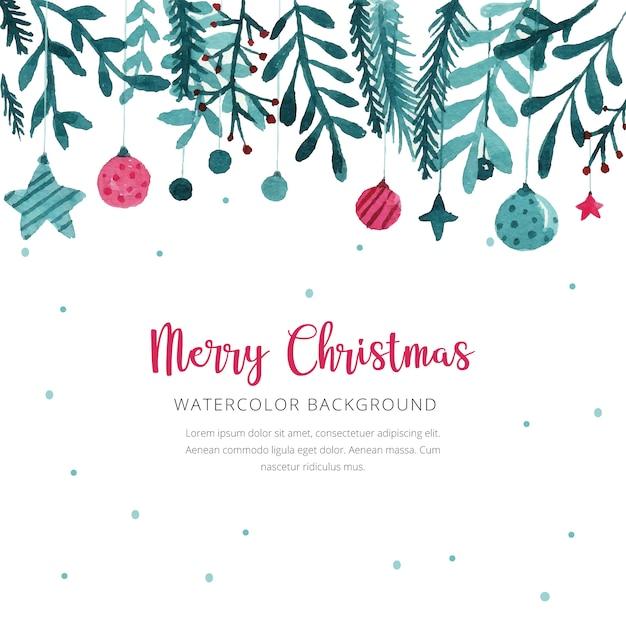 Aquarell weihnachten hintergrund download der - Aquarell weihnachten ...