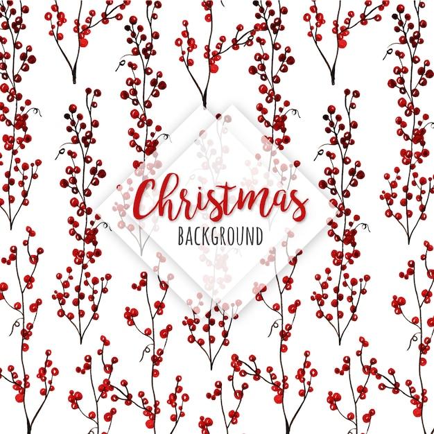Aquarell weihnachten muster hintergrund Premium Vektoren