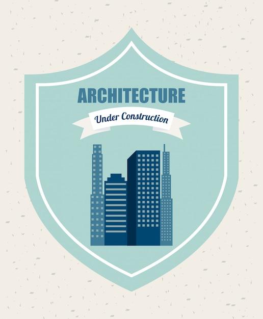 Architecht design Kostenlosen Vektoren
