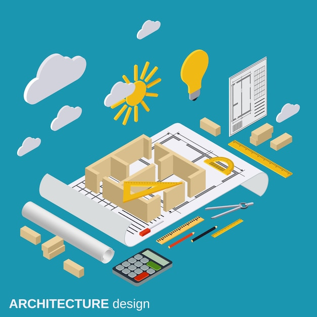 Architektur-design Premium Vektoren