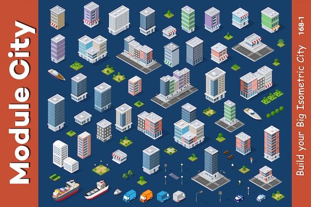 Architektur-vektor-illustration Premium Vektoren