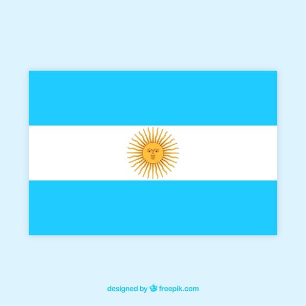 Argentinien flagge hintergrund Kostenlosen Vektoren
