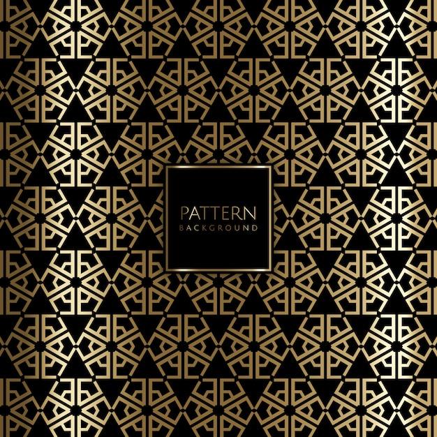Art Deco Stil Gold Hintergrund Download Der Kostenlosen Vektor