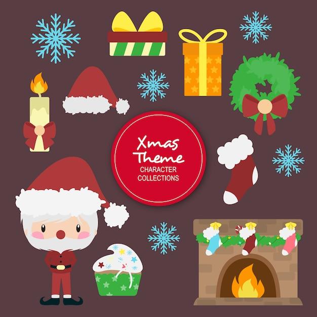 ashley weihnachten winter zeichen Premium Vektoren