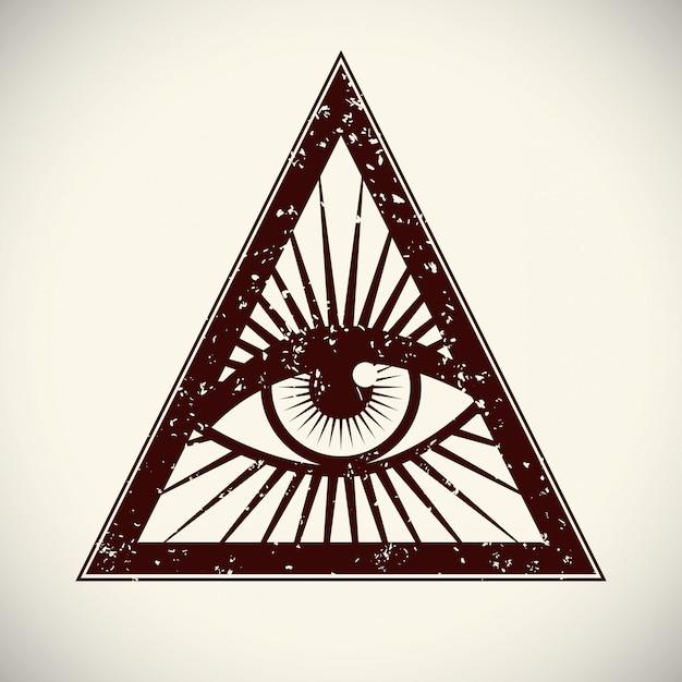 Augensymbol Premium Vektoren