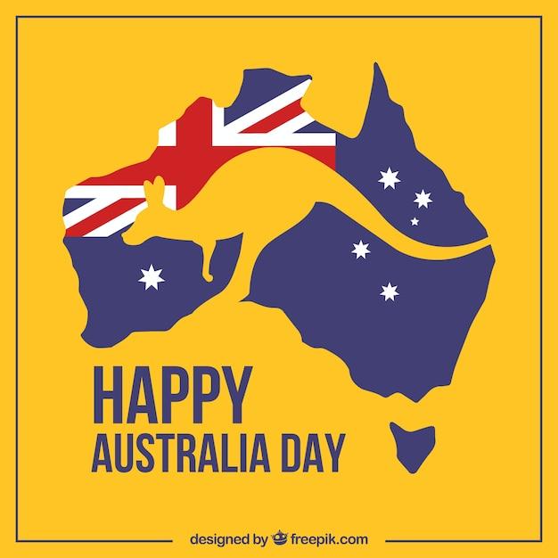 Australien tag Kostenlosen Vektoren