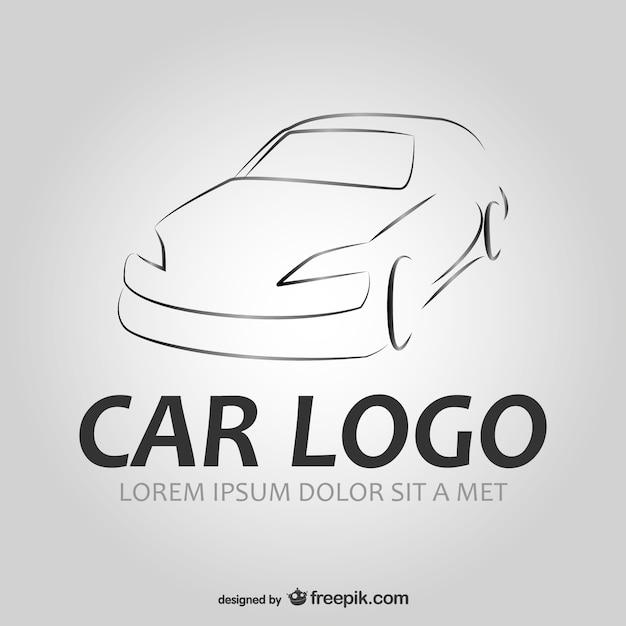 Auto-Auto-Logo Vektor | Download der kostenlosen Vektor