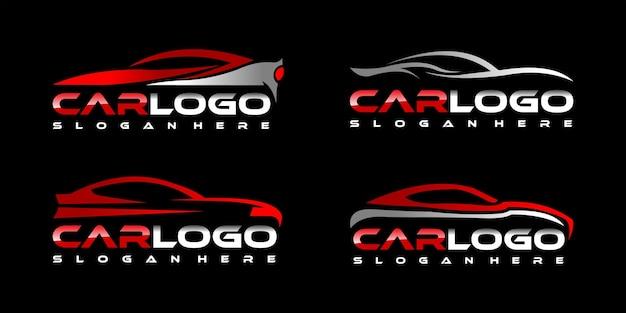 Auto-logo-sammlung Premium Vektoren
