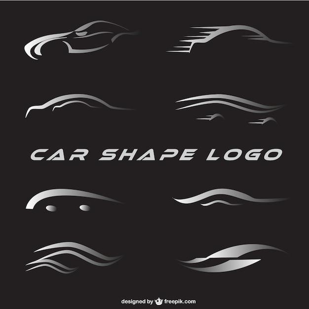 Auto Logos eingestellt | Download der kostenlosen Vektor