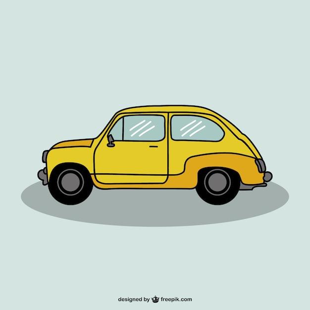 Auto Zeichnung Vektor-Design | Download der kostenlosen Vektor