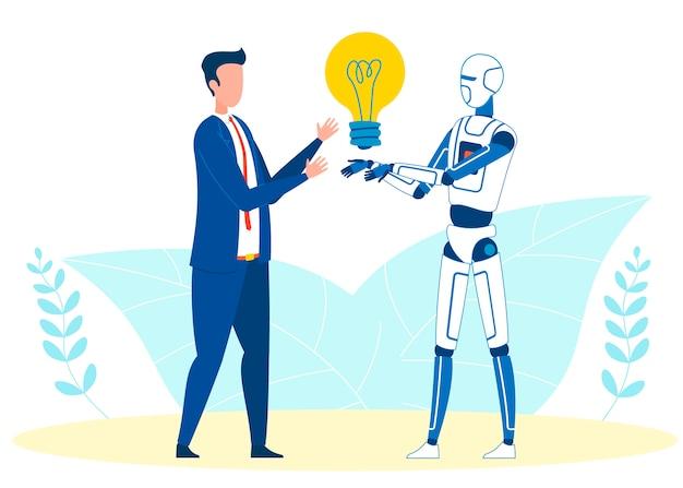 Automatisch generierte idee Premium Vektoren