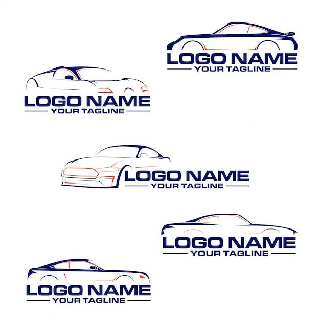 Automobil-auto-logo Premium Vektoren