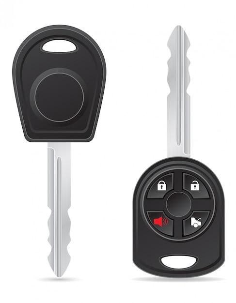 Autoschlüssel Premium Vektoren