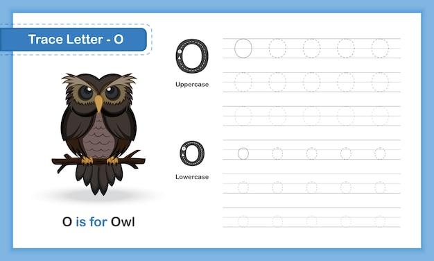 Az animal hand writing übungsbuch Premium Vektoren