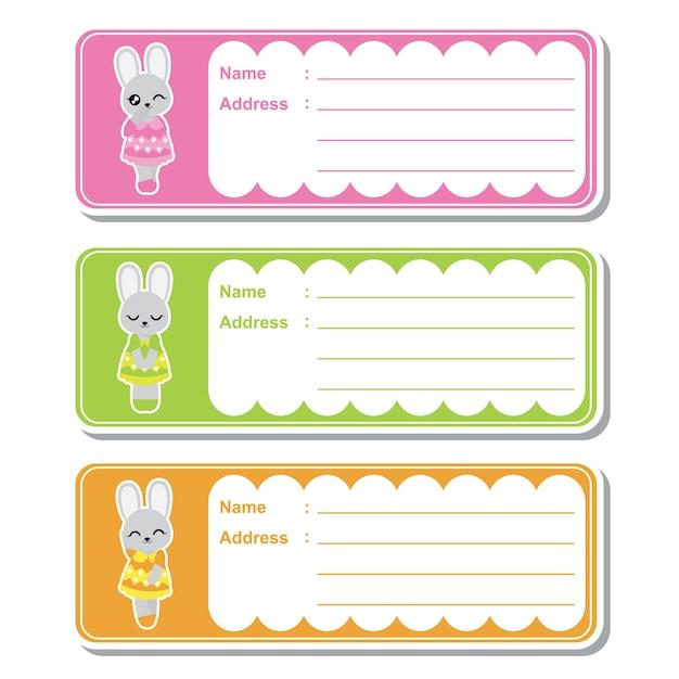 Baby-dusche-etiketten sammlung Premium Vektoren