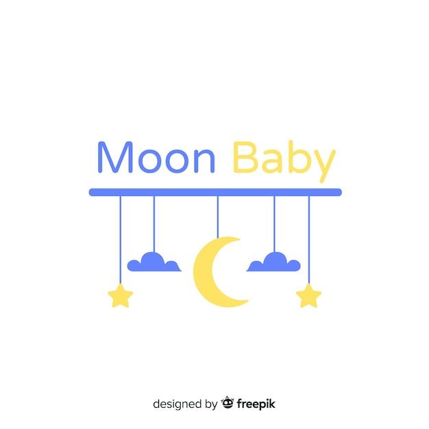 Baby-logo-vorlage Kostenlosen Vektoren