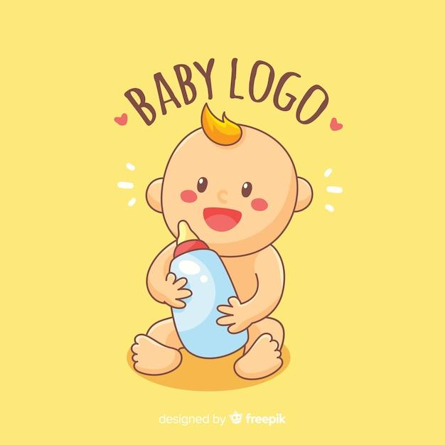 Baby-Logo Kostenlose Vektoren