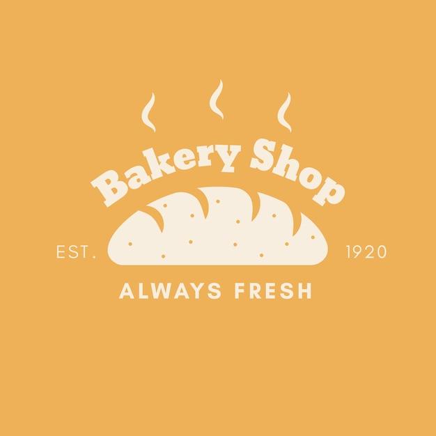 Bäckerei kuchen logo thema Kostenlosen Vektoren