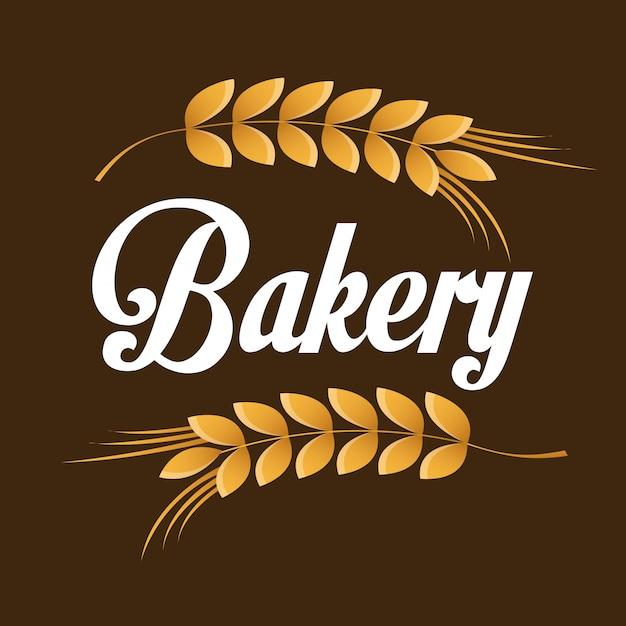 Bäckerei-symbol Premium Vektoren