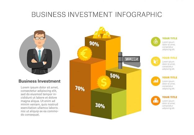 Balkendiagramm infografik-vorlage Kostenlosen Vektoren