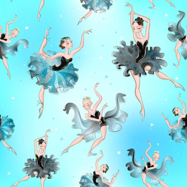 Ballerinas Premium Vektoren