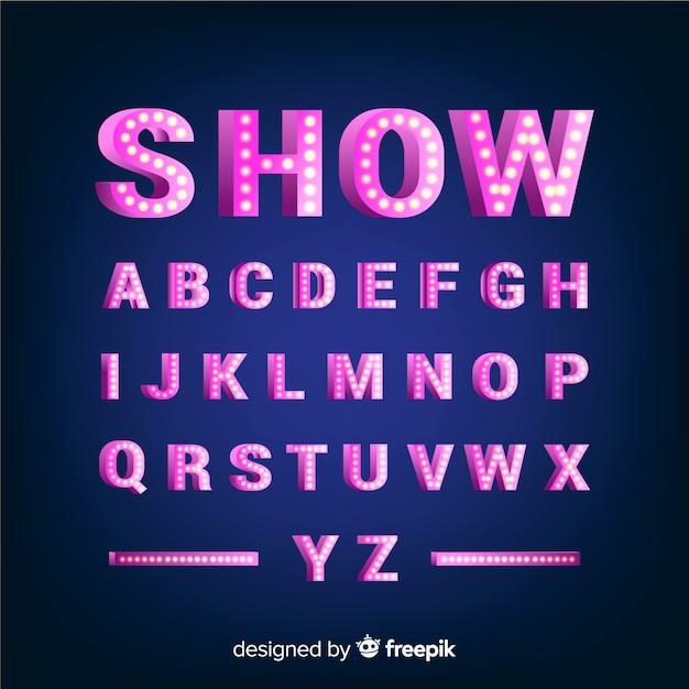 Ballon-alphabet Kostenlosen Vektoren