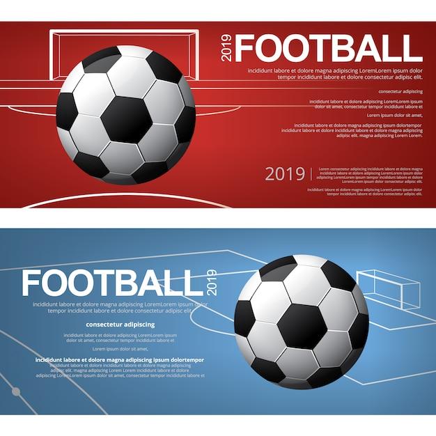 Banner Fußball
