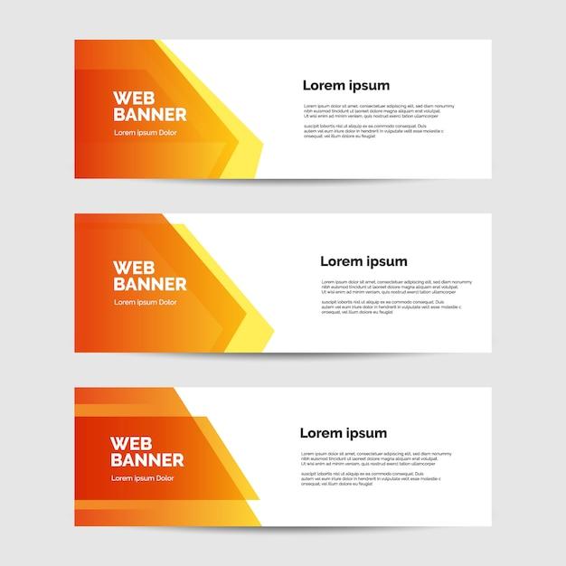Banner hintergrund Premium Vektoren