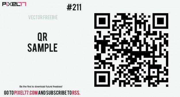 Barcode sicherheit sqares bild Kostenlosen Vektoren