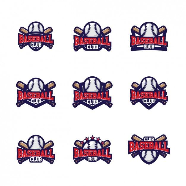 Baseball-Logo-Vorlagen Design | Download der kostenlosen Vektor