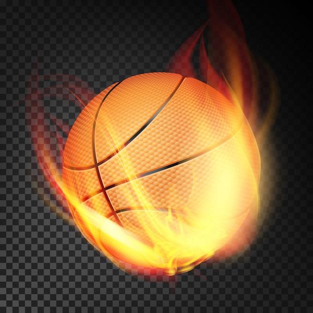 Basketball ball Premium Vektoren