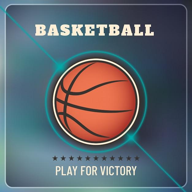 Basketball hintergrund Premium Vektoren