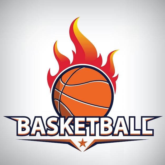 Basketball-meisterschaftslogo Premium Vektoren