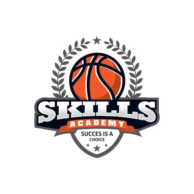 Basketball-Sport-Logo-Design-Vorlage | Download der Premium Vektor
