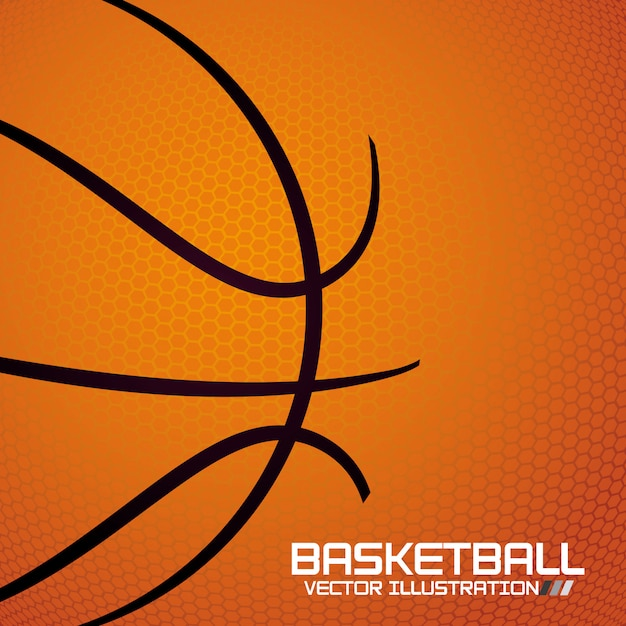 Basketball-sport Premium Vektoren