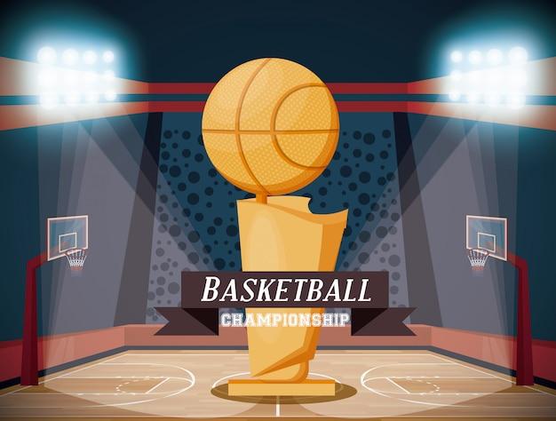 Basketball-sportspiel Kostenlosen Vektoren