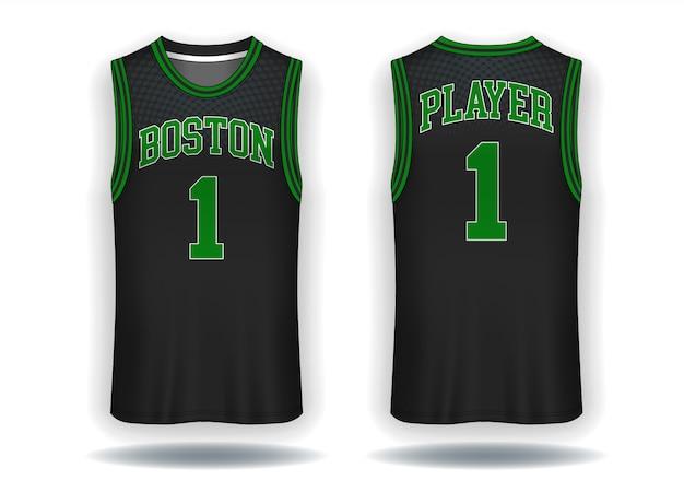 Basketball trikot Premium Vektoren