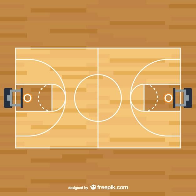 Basketball-vektor Kostenlosen Vektoren