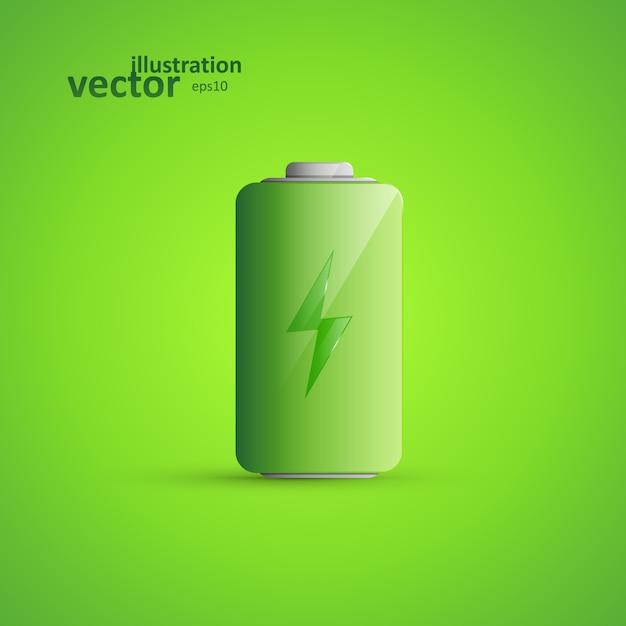 Batteriesymbol Premium Vektoren