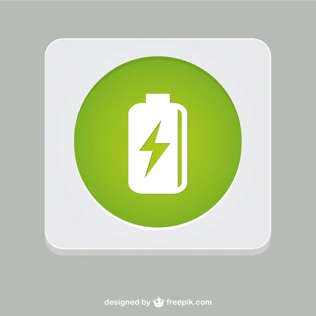 Batterievektorsymbol Kostenlosen Vektoren