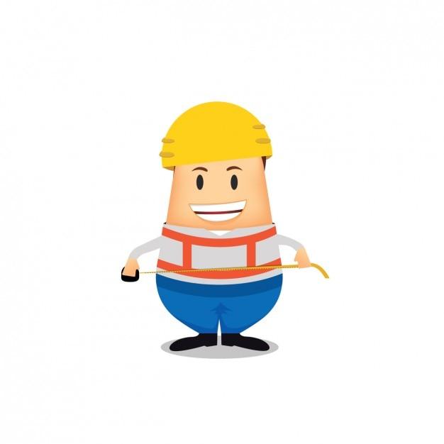Bauarbeiter avatar Design   Download der kostenlosen Vektor