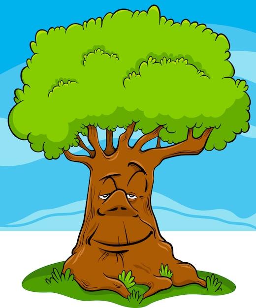 Baum Cartoon