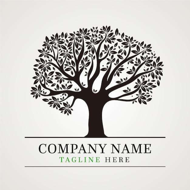 Baumleben-logo-vorlage Kostenlosen Vektoren