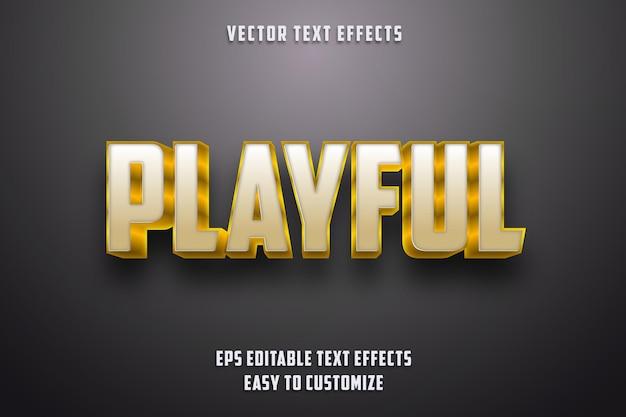 Bearbeitbarer texteffektstil Premium Vektoren