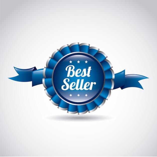 Bestseller-award-band Premium Vektoren